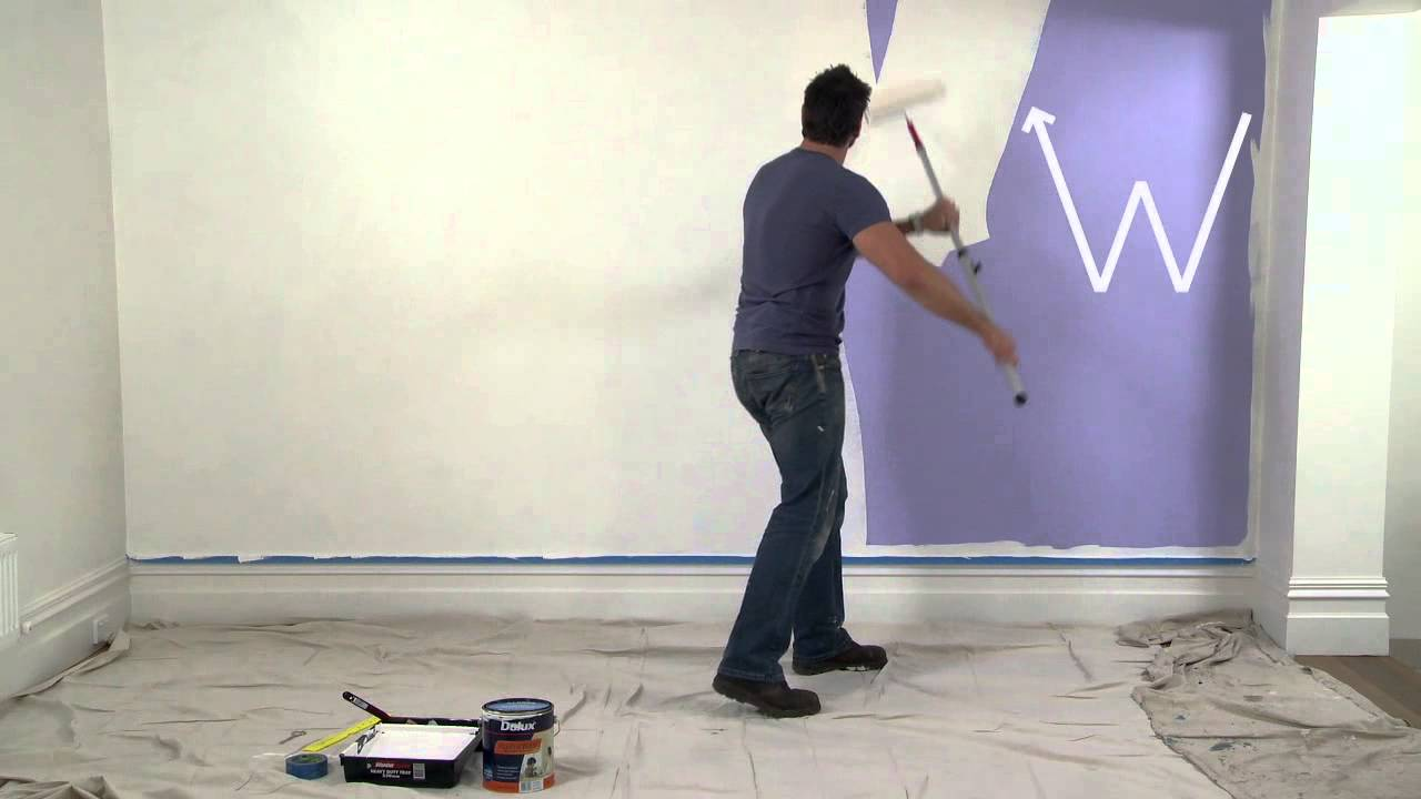 How To Paint Interior Walls With Dulux You