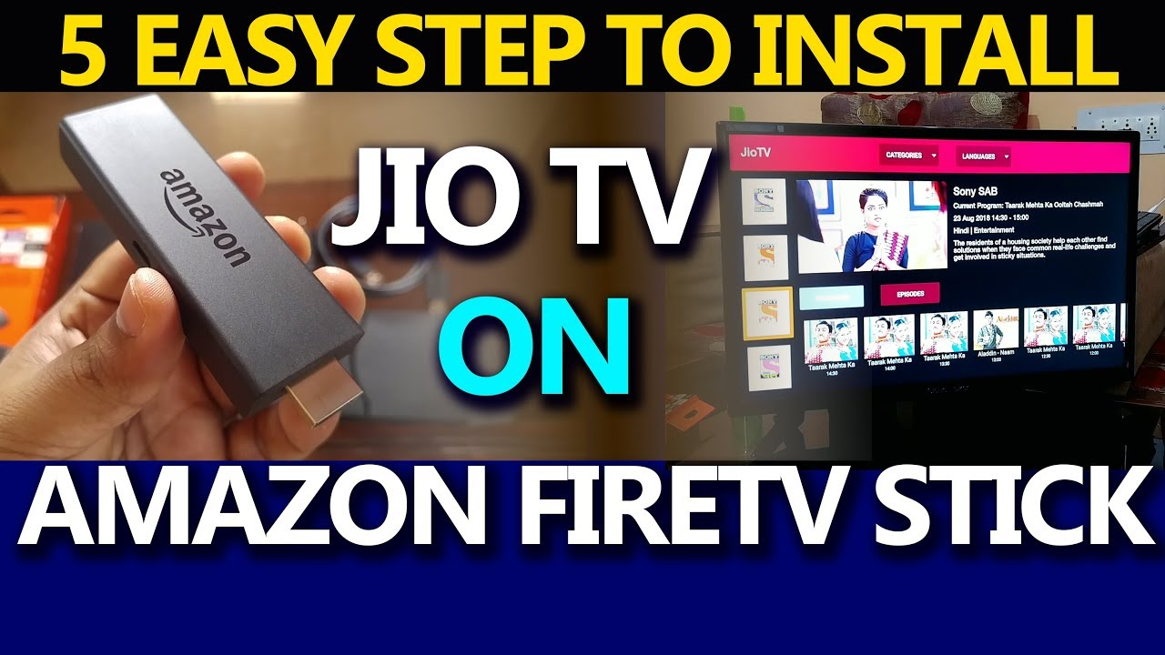 894c7dd4edd8 HOW TO INSTALL JIOTV ON AMAZON FIRE TV STICK I EASY WAY TO INSTALL ...
