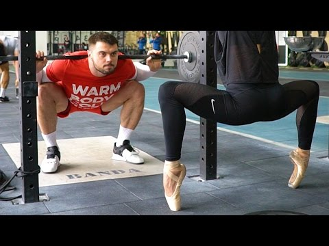 BALLET and WEIGHTLIFTING // A.TOROKHTIY