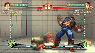 USFIV~ T.Hawk (IND Incognitus) vs.  Ryu (EBAR evilhass) HD