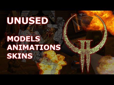 Quake II - Unused Models, Animations and Skins