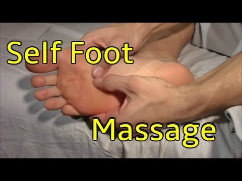 Self Foot Massage - Do While Watching!
