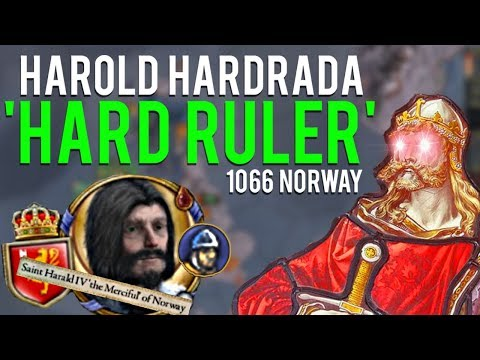 What If Harold Hardrada WON?  |  CRUSADER KINGS 2 | 'Hard Ruler' Achievement
