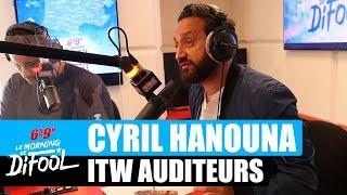 Cyril Hanouna - Interview auditeurs #MorningDeDifool