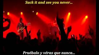 Arctic Monkeys - Suck it and see (inglés y español)