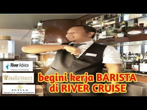 Bar Department Di Kapal Sungai # River Cruise Jerman