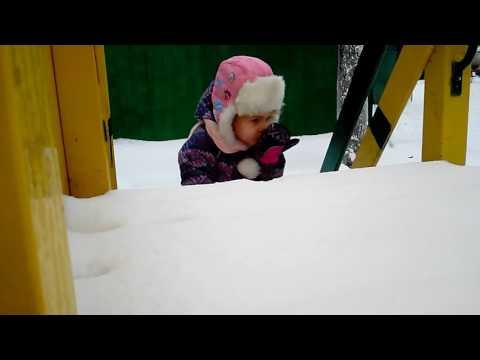 Зимние снежные игры