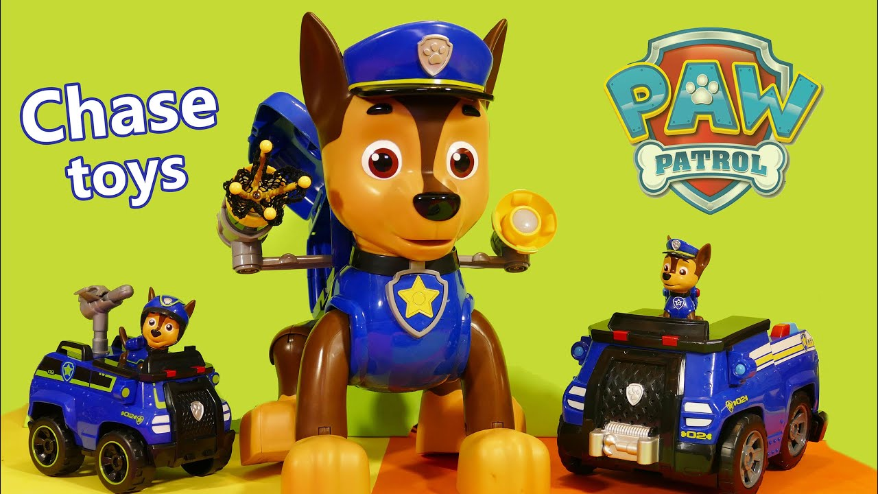 Paw Patrol Mission Chase toy Paw Patrol Spy Chase toy and Paw