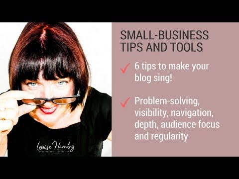 6 tips to make your blog sing!