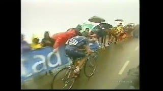 2002 ブエルタ・ア・エスパーニャ 第15ステージ (アングリル 最大勾配23.6%)
