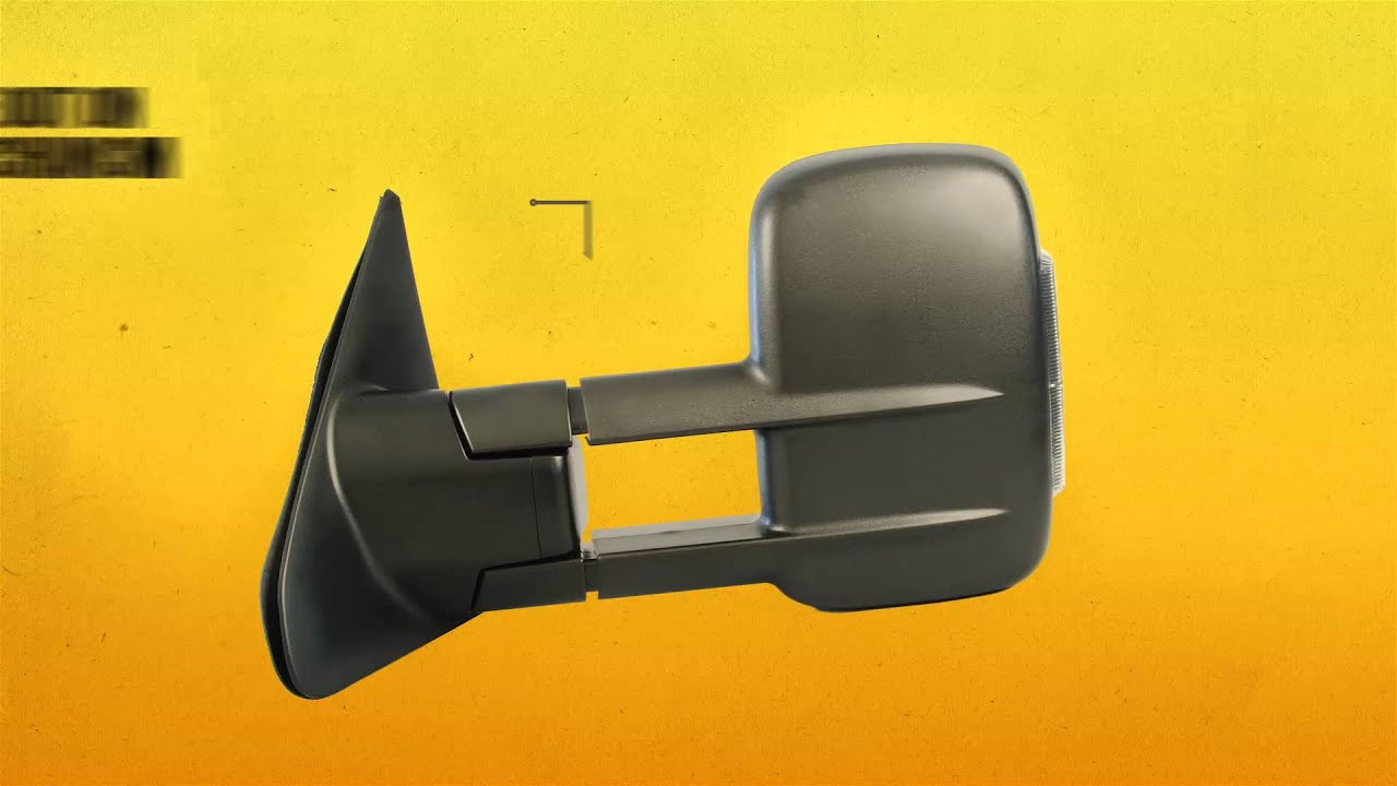 Toyota Tundra Towing Mirrors With Power Heated Glass