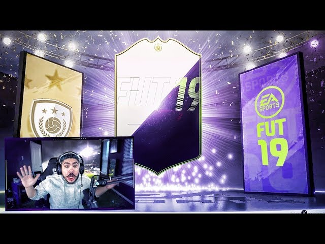 ICON AND FUTURE STARS IN PACKS!! FIFA 19