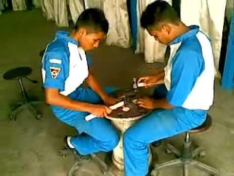 Pembentukan Logam atau Fabrication di Bengkel Teknik Pengelasan SMK Negeri 2 Banda Aceh.mp4