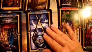How I Do Readings (Blending Tarot Cards Within Positions)