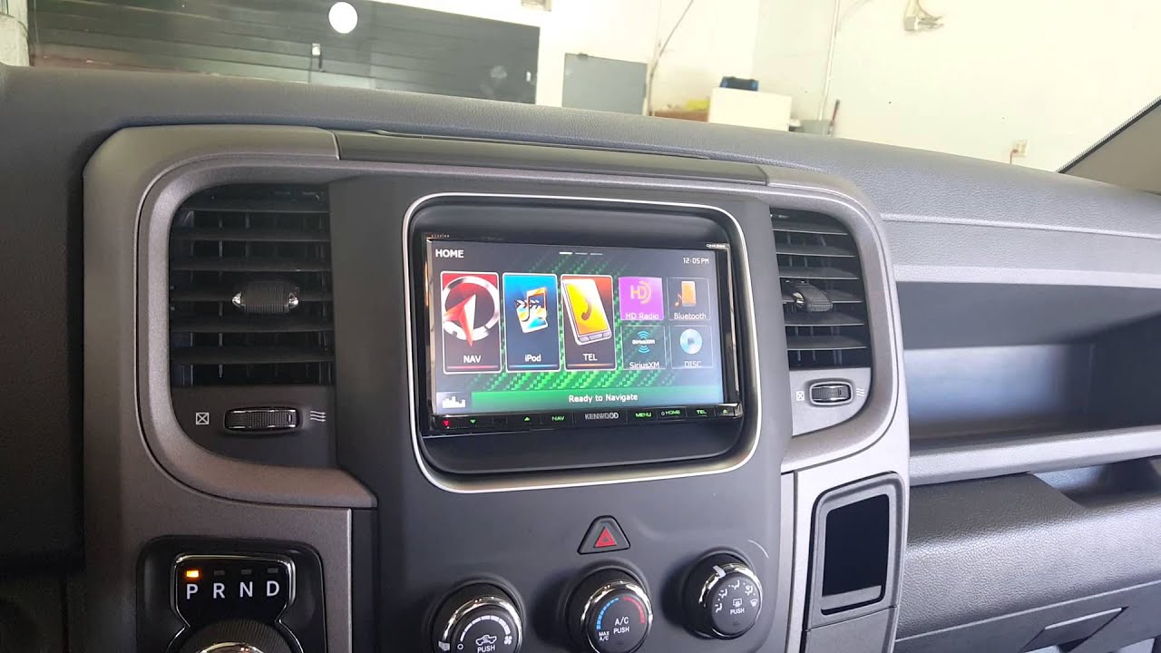 2014 Dodge Ram Stereo Upgrade With Factory Camera