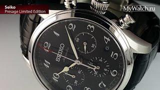 Обзор новых механических часов с автоподзаводом Seiko Presage. Характеристики и габариты.(, 2016-07-18T08:57:16.000Z)