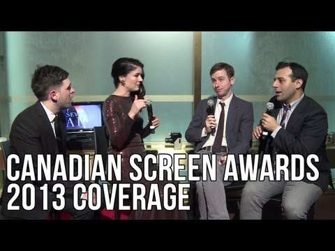 2013 Canadian Screen Awards Highlights - The Seventh Art