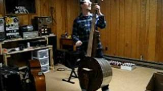 Four String Washtub Bass