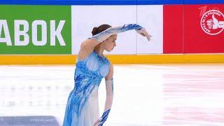 Камила Валиева Короткая программа Женщины Кубок России по фигурному катанию 2021