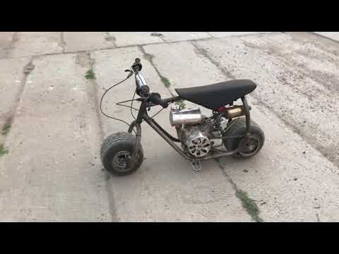 Мини байк «вжик» от molotovbikes. Mini-bike