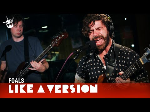 Foals - Mountain At My Gates (live on triple j)
