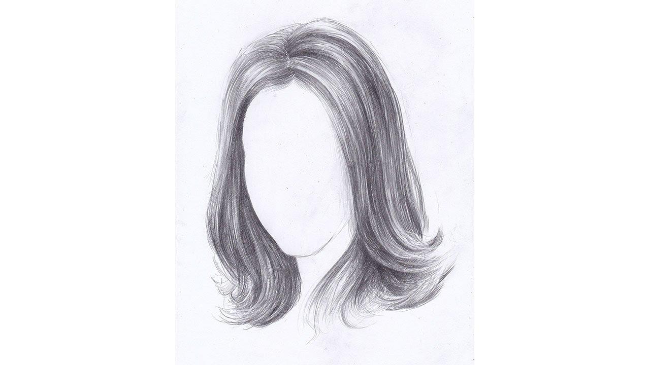 Волосы для рисования девушек