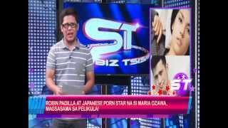 Robin Padilla at Japanese Porn Star na si Maria Ozawa, magsasama sa isang pelikula.
