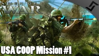 Stop the Choppa! - Men of War: Vietnam - USA Mission 1 (COOP Gameplay)