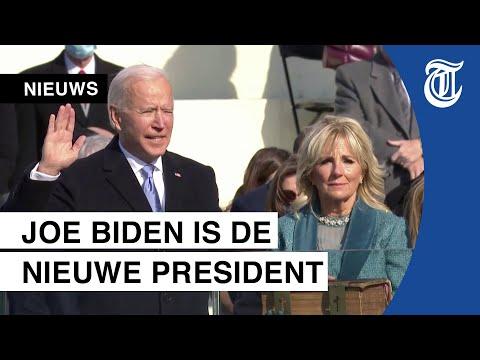 Inauguratie Biden als president van VS