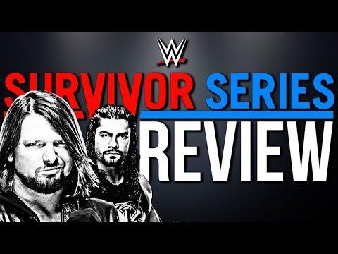 WWE Survivor Series 2017 - PPV Review/Rückblick - BETREUTES WRESTLING! (Deutsch/German)