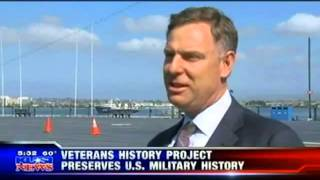 KUSI - Scott announced launch of Veterans History Project in San Diego