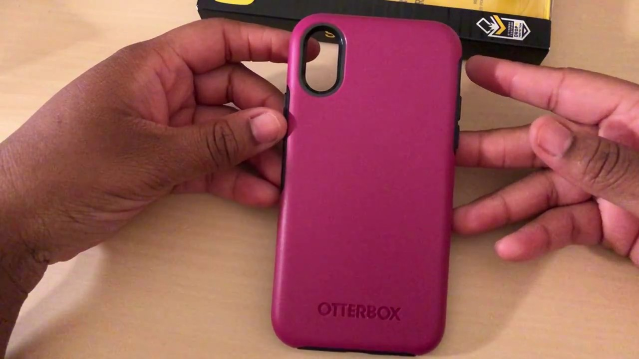 newest f1440 42138 Otterbox Symmetry case for iPhone X