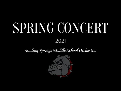 Boiling Springs Middle School Spring Orchestra Concert