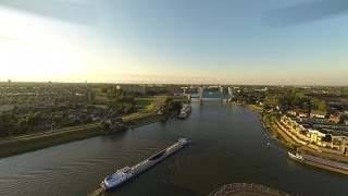 Drone Flight Algerabrug Krimpen aan den IJssel