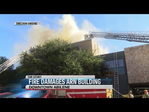 Fire At Abilene Reporter News