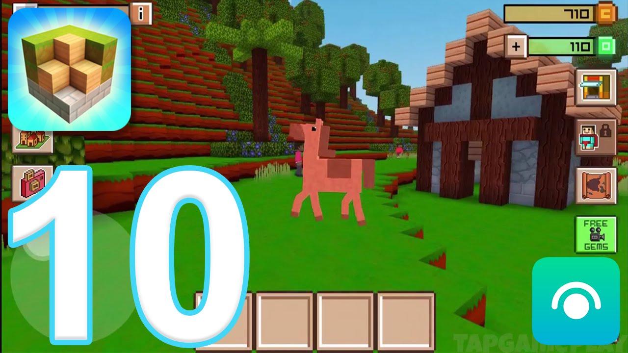 Free Block Building Games Like Minecraft