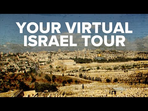 Virtual Israel Tour Day 1: Our Journey Begins