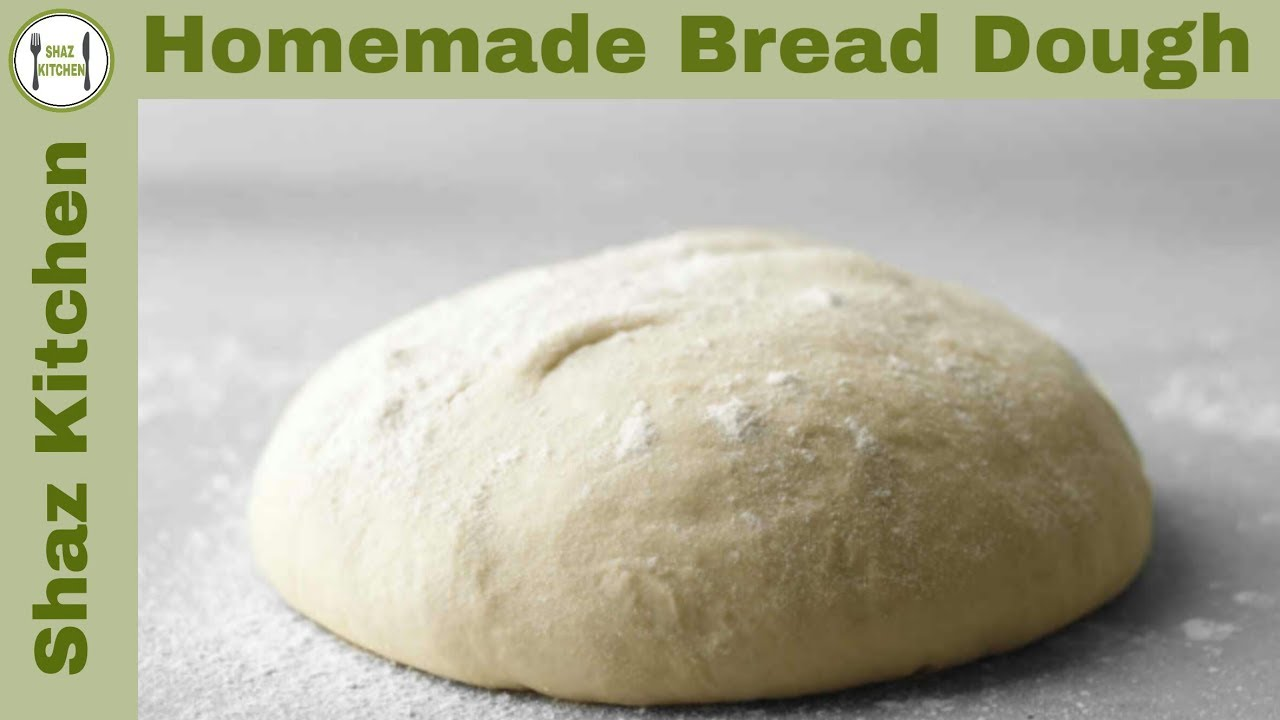 Homemade Bread Dough Recipe Dough For Buns Bread Recipe In
