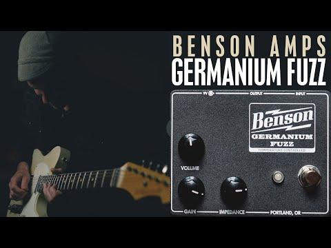 Demos in the Dark / Benson Amps Temperature Controlled Germanium Fuzz / Pedal Demo