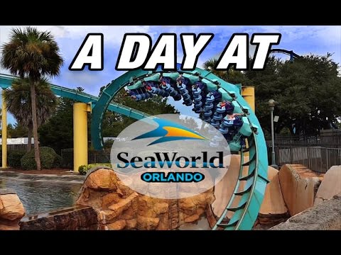 A Day at SEA WORLD ORLANDO! (2016 Tour) [Park Footage]