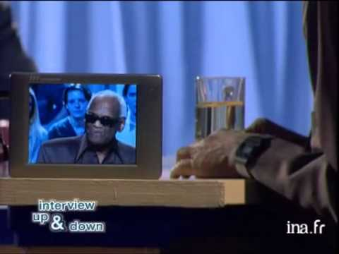 Interview Up and down de Ray Charles - Archive INA