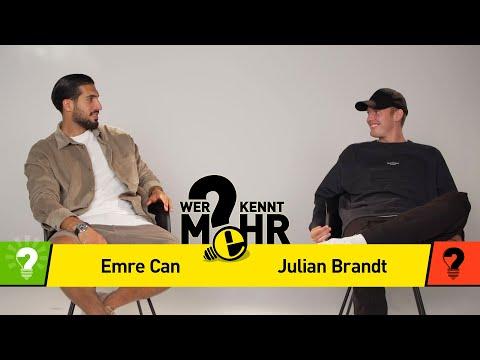 Julian Brandt vs Emre Can   Who knows more? BVB Challenge