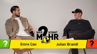 Julian Brandt vs Emre Can | Who knows more? BVB Challenge