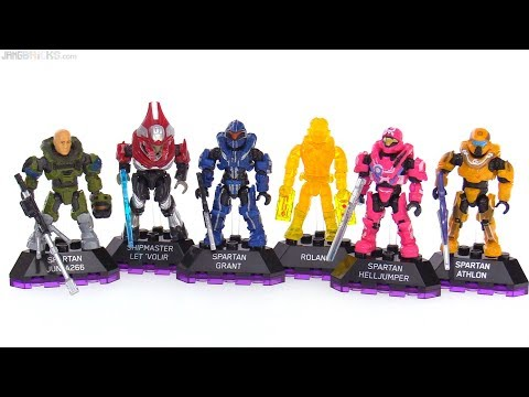 Mega Construx Halo Heroes Series 6 full collection review