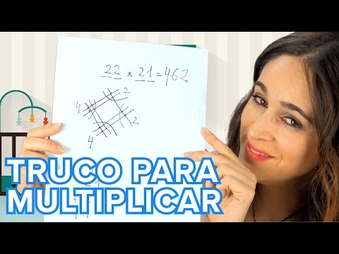 El truco japon�s para multiplicar | Matem�ticas para ni�os