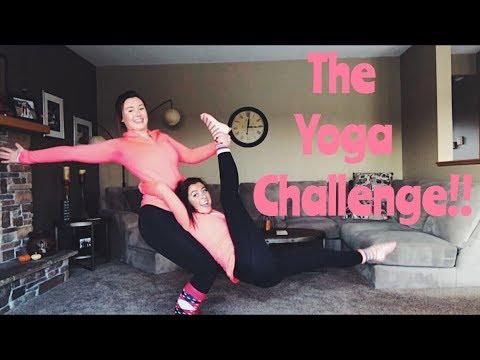THE YOGA CHALLENGE!!   Kenna & Renee