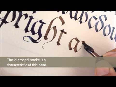 Fraktur Script - by Wendy T Calligraphy