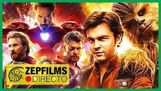 Predicciones de HAN SOLO y AVENGERS: INFINITY WAR | ZEPfilms Directo #13