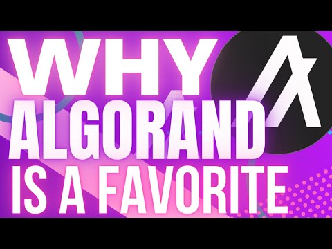 WHY ALGORAND (ALGO) IS ONE OF MY FAVORITE CRYPTO BLOCKCHAIN PROJECTS!! Cryptocurrency Analysis
