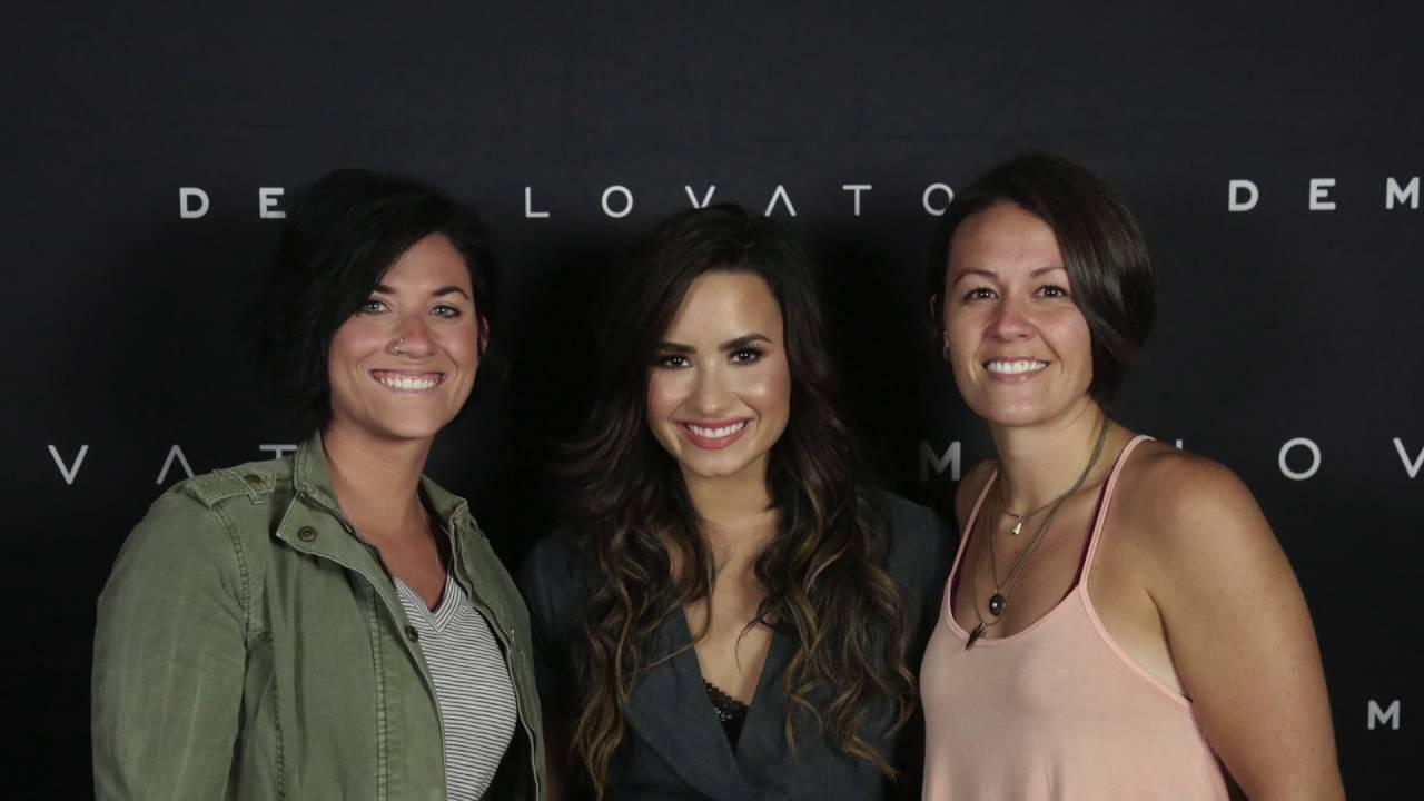 Demi Lovato Meet Greet August 13 2016 Youtube